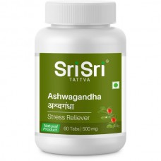 Ашвагандха (Ashwagandha) Sri Sri Ayurveda Tattva, 60таб